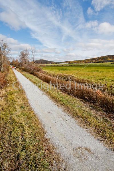 Cyclist(s) on Vermont's Missisquoi Valley Rail Trail-0177 - 72 ppi