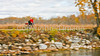 Cyclist at St  Albans Bay State Park, Vermont-0039 - 72 ppi