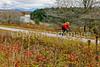 Biker on Confederate bank robbers' trail north of Enosburg Falls, VT-C3--0083 - 72 ppi