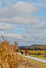 Cyclist(s) on Vermont's Missisquoi Valley Rail Trail - 3 -0038 - 72 ppi