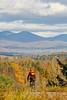 Biker on Confederate bank robbers' trail north of Enosburg Falls, VT-0355 - 72 ppi