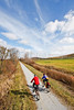 Cyclist(s) on Vermont's Missisquoi Valley Rail Trail-0159 - 72 ppi