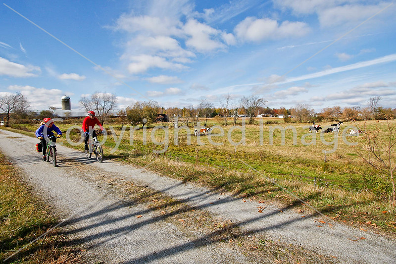 Cyclist(s) on Vermont's Missisquoi Valley Rail Trail-0185 - 72 ppi