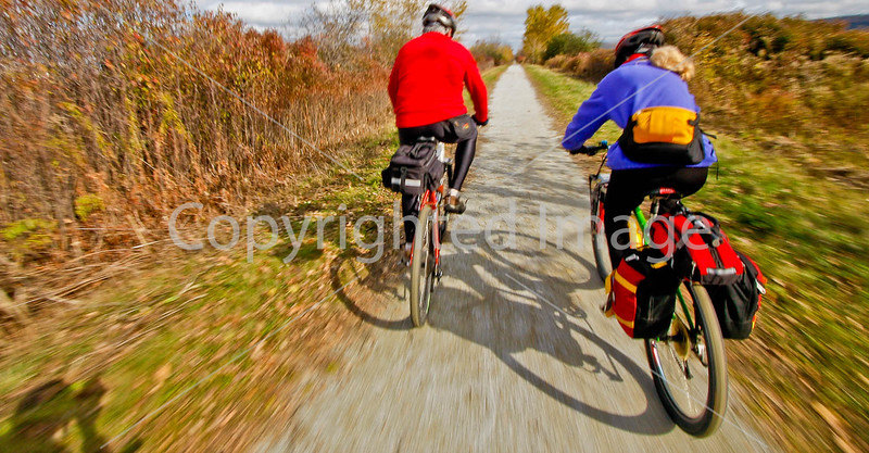Cyclists on Vermont's Missisquoi Valley Rail Trail-0056 - 72 ppi