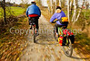 Cyclist(s) on Vermont's Missisquoi Valley Rail Trail - 2 -0363 - 72 ppi