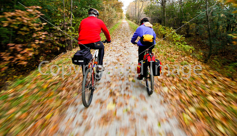 Cyclist(s) on Vermont's Missisquoi Valley Rail Trail-0032 - 72 ppi-2