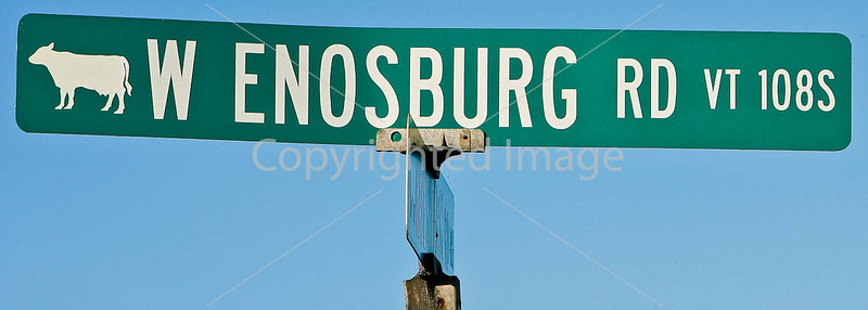 Road sign in Enosburg Falls, Vermont-C1--0001 - 72 ppi