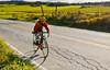 Biker on Confederate bank robbers' trail north of Enosburg Falls, VT-C2--0376 - 72 ppi