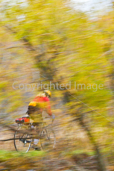 Cyclist at St  Albans Bay State Park, Vermont- - 72 ppi-3