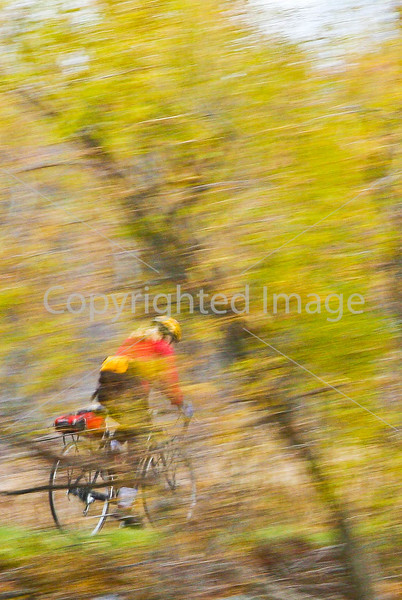 Cyclist at St  Albans Bay State Park, Vermont  - C1 - - - 72 ppi-2