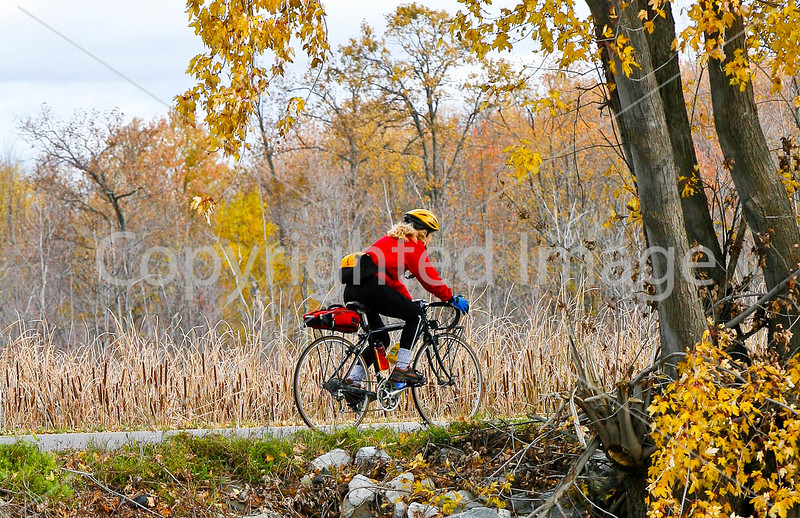 Cyclist at St  Albans Bay State Park, Vermont-0014 - 72 ppi