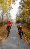 Cyclist(s) on Vermont's Missisquoi Valley Rail Trail-0047 - 72 ppi