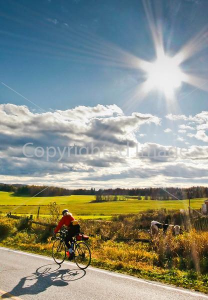 Biker on Confederate bank robbers' trail north of Enosburg Falls, VT-C2-- - 72 ppi-2