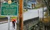 Biker on bank robbers' trail in Sheldon, VT-0234 - 72 ppi
