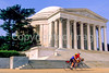 Bikers at Jefferson Memorial on Tidal Basin - 8 - 72 ppi