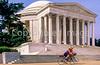Bikers at Jefferson Memorial on Tidal Basin - 10 - 72 ppi