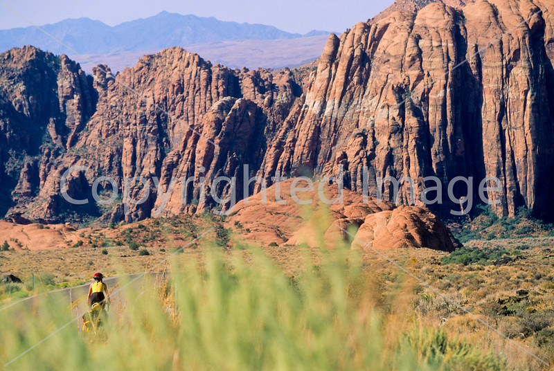 Snow Canyon State Park, Utah - touring cyclist - 3 - 72 ppi