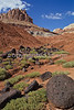 Hiker in Capitol Reef National Park - 1a - 72 ppi