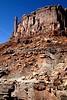 Mountain biker on White Rim Trail in Utah's Canyonlands National Park - B ut wr 23
