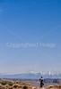 Mountain biker on White Rim Trail in Utah's Canyonlands National Park - B ut wr 31