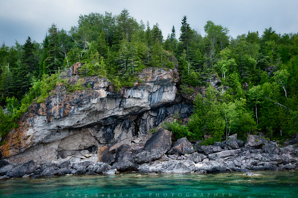 The Bruce Peninsula Shore