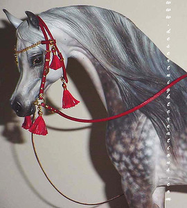 Miniature HOllywood/Fantasy Style Bridle