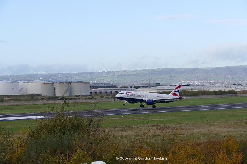 12.11.16. Belfast City Airport.