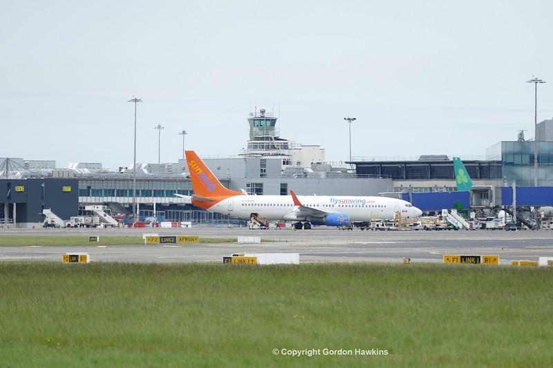 28.5.17 . Planes at Dublin Airport