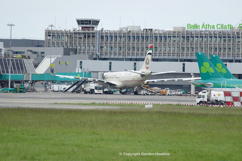28.5.17 . Planes at Dublin Airport