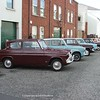 19.9.09. Ford Anglia Cars  on show in Portadown Town Centre.
