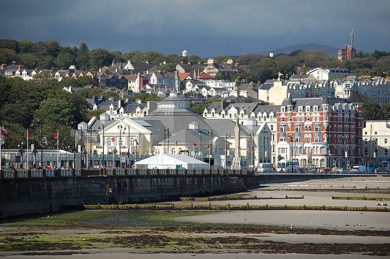 25.8.11.  Douglas in the Isle of Man.