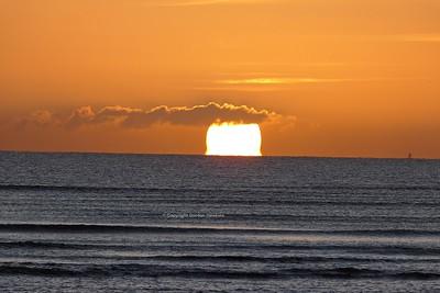 18.1.20. Sunrise over Dublin Bay.