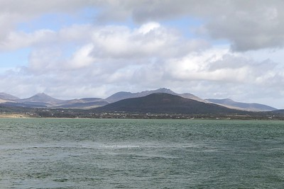 8.3.20. Mourne Mountains Co.Down photo taken from Greenore Co.Louth.