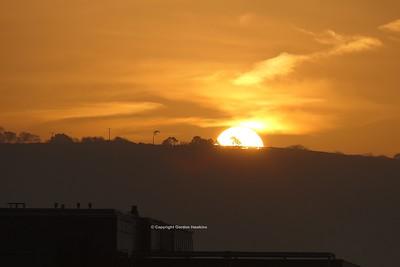 7.11.20. Sunrise Belfast.