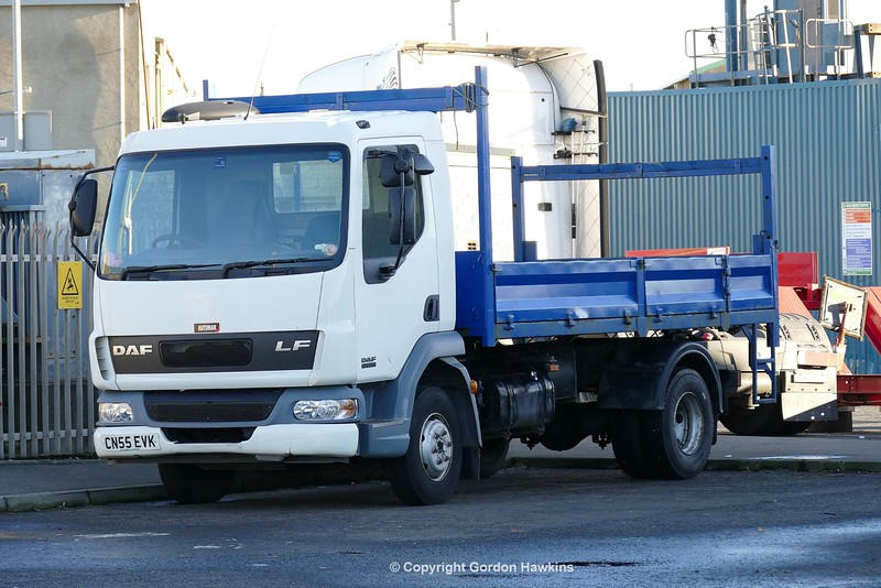 1.1.17 Lorries Parked up at Kilkeel Harbour Co.Down