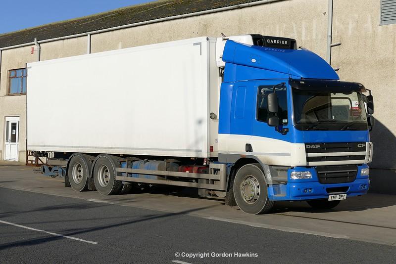 1.1.17 Lorries Parked up at Kilkeel Harbour Co.Down