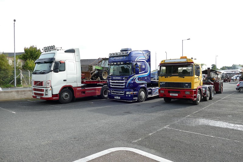 15.9.18. Lorries at the Country Comes to Town Show in Portadown.