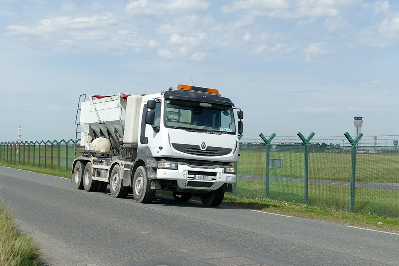 24.8.19. Lorries on the Old Airport Road Dublin.