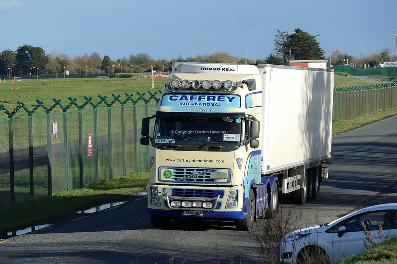 9.2.19. Lorries on the Old Airport Road Dublin.