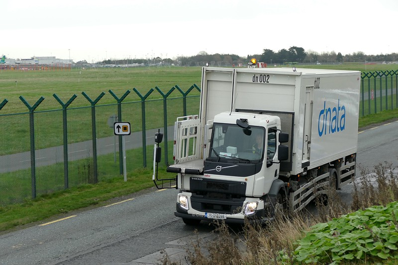 6.1.19. Lorries on the Old Airport Road Dublin.