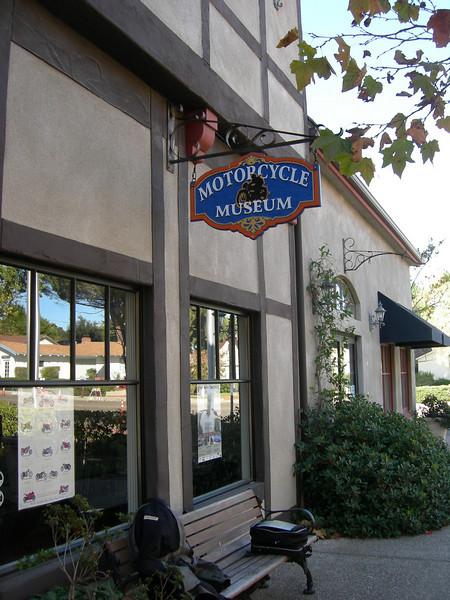 2009 - Motorcycle Museum, Solvang