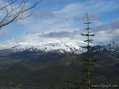 2011 (May 28)  CA to OR to WA - Mt St Helens area, WA