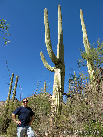 2011 (Oct 27) Ventana Cyn (Tucson, AZ) before flying back to CA