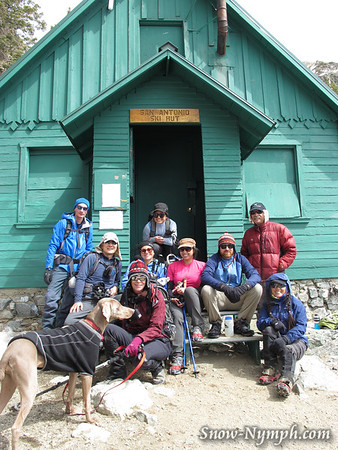 2012 (Mar 24) Mt Baldy Ski Hut