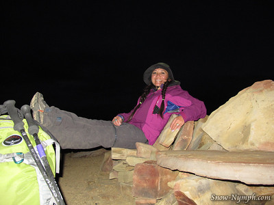 2012 (Nov 15) Hines Pk / Topatopa Bluff Solo Hike & Wheelin'