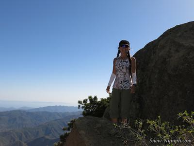 2014 (Jun 3) Reyes Pk (x2) and Haddock Pk (x2), Sespe Wilderness, Ojai