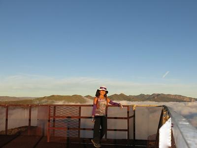 2014 (Nov 14) Nordoff Peak (x2) from Gridley Trail, Ojai