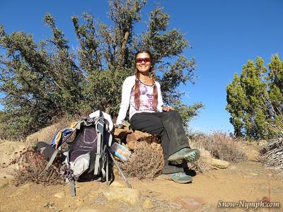 2014 (Nov 5) Fox Mountain #1 (5,167') new peak for me, Dick Smith Wilderness