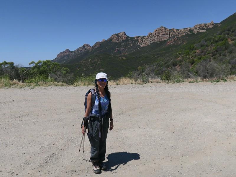 Sandstone Peak trailhead