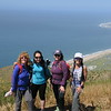2017-04-23  Mugu Peak summit photo - Christine Spee, Christine Ton, Liz, Cori